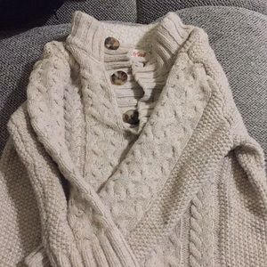 Toddler Boys 3 button Sweater
